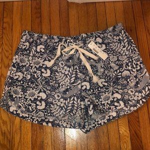 NWT J.Crew mermaid Print shorts